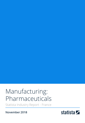 Manufacturing: Pharmaceuticals in France 2018