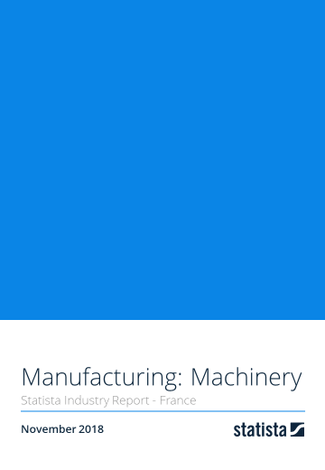 Manufacturing: Machinery in France 2018