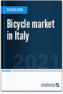 Bicycle market in Italy