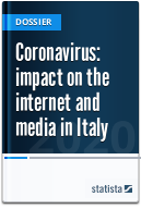 Coronavirus: impact on the internet and media in Italy