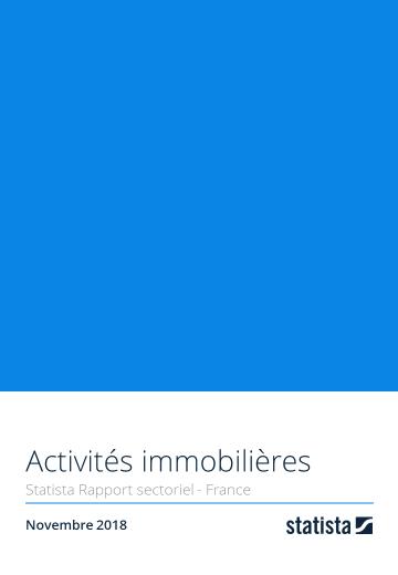 Activités immobilières 2018