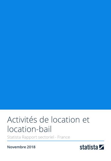 Activités de location et location-bail 2018