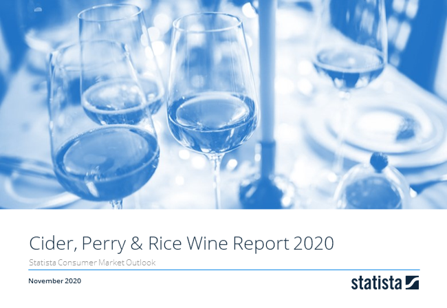 Alcoholic Drinks Report 2019 - Cider, Perry and Rice Wine