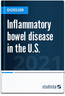 Inflammatory bowel disease (IBD) in the U.S.