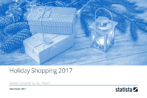 Holiday Shopping in the U.S. 2017 report