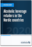 Alcoholic beverage retailers in the Nordic countries