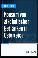 Konsum von alkoholischen Getränken in Österreich
