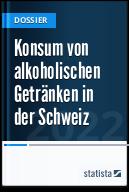 Konsum von alkoholischen Getränken in der Schweiz