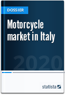 Motorcycle market in Italy