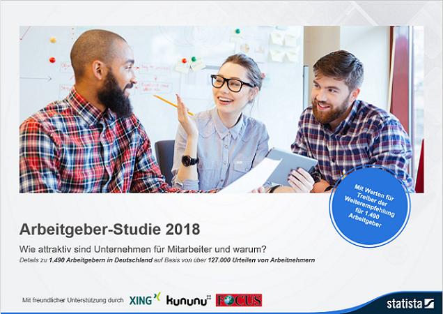 Arbeitgeber-Studie 2018