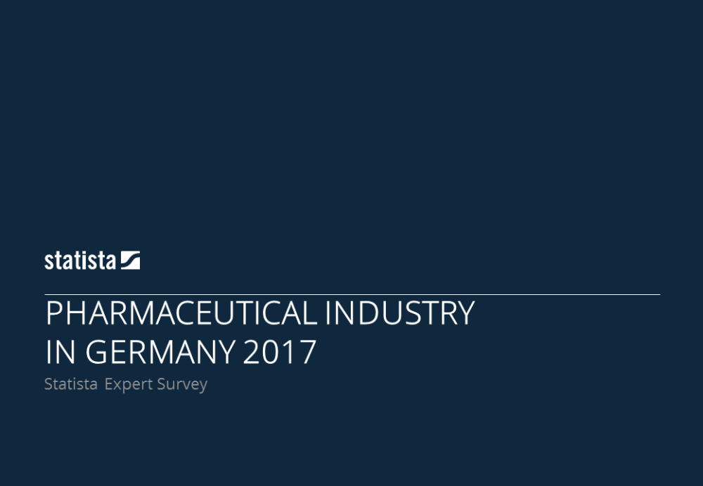 Industry Insights Pharmaceutical Industry in Germany 2017