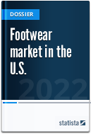 Footwear market in the U.S.