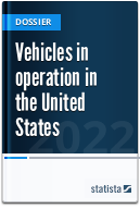 Vehicles in use in the U.S.