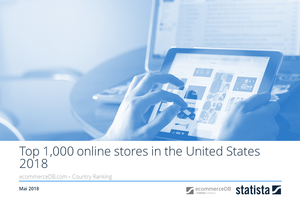 Top 1,000 online stores in the U.S. 2018
