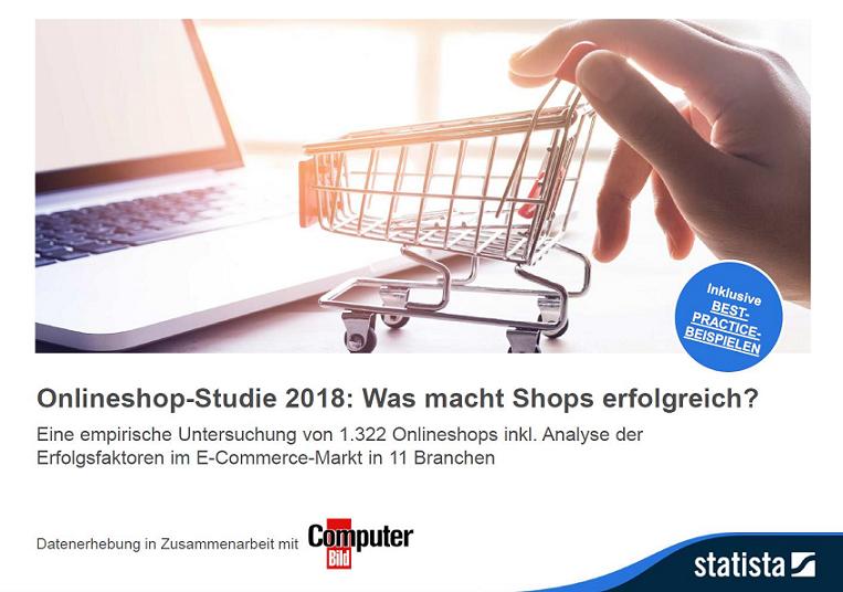 Onlineshop-Studie 2018: Was macht Shops erfolgreich?