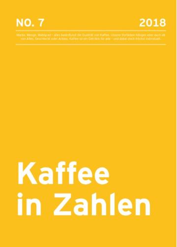 Kaffee in Zahlen 2018