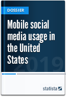 Mobile social media usage in the United States