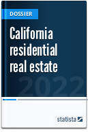 Residential real estate in California