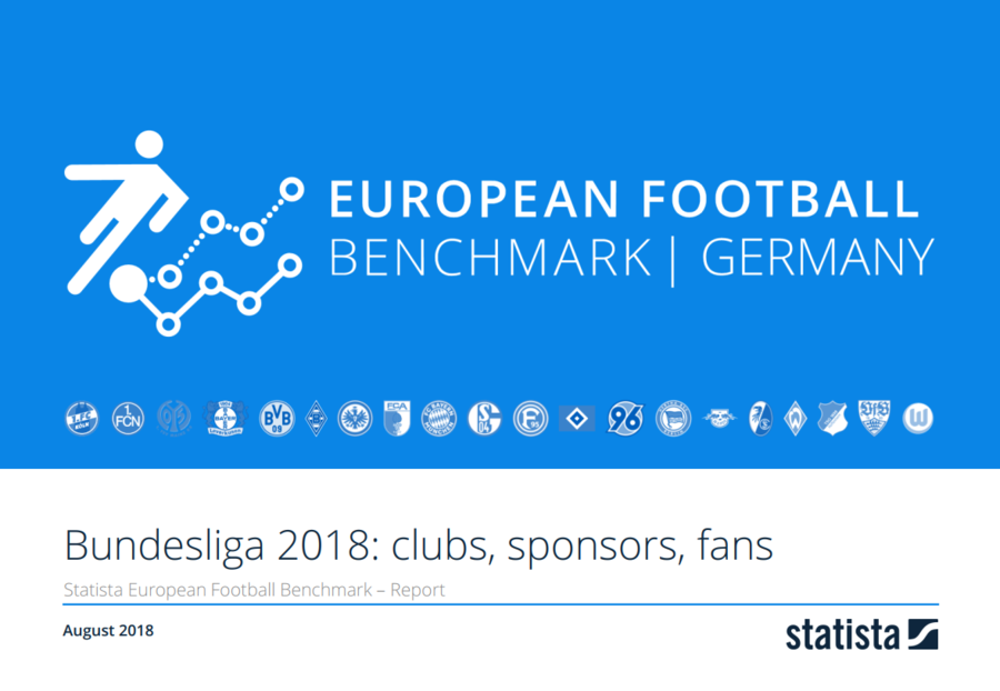 European Football Benchmark Bundesliga: Clubs, Sponsoren, Fans 2018/19 Report