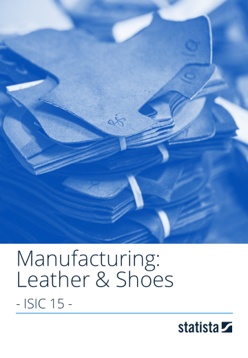 Manufacturing: Leather & Shoes – global 2018