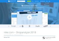 nike.com – Shopanalyse 2018