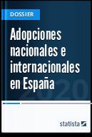 Adopciones nacionales e internacionales en España