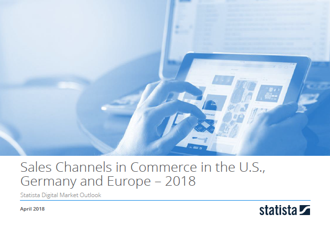 Sales Channels in Commerce the U.S., Germany and Europe 2018
