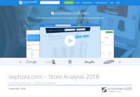 sephora.com – Store Analysis 2018