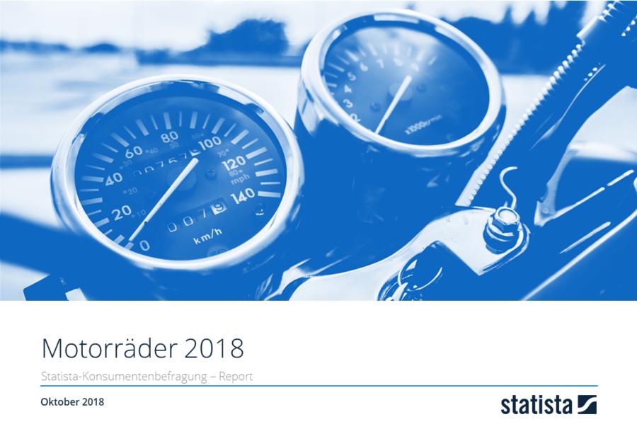 Motorräder in Deutschland 2018 Report