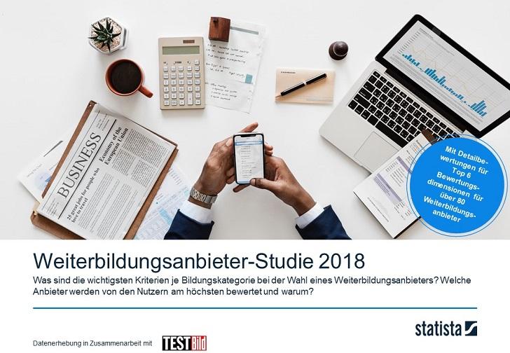 Weiterbildungsanbieter-Studie 2018