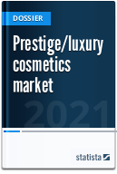 Prestige/luxury cosmetics market