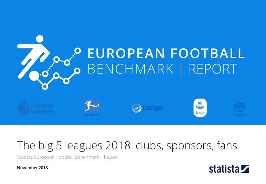 European Football Benchmark The Big 5 Leagues: Clubs, Sponsoren, Fans 2018/19 Report