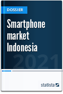 Smartphone market in Indonesia