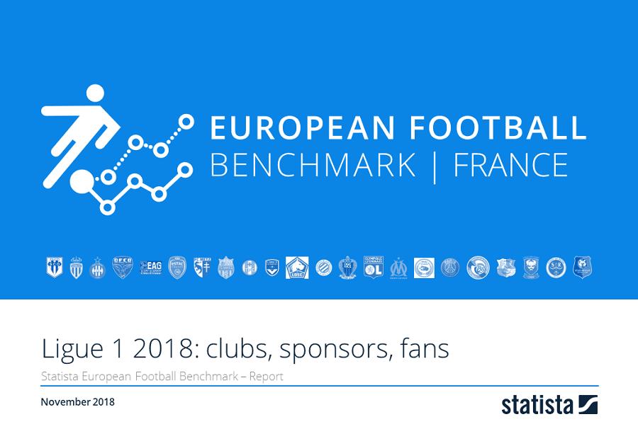 European Football Benchmark Ligue 1: Clubs, Sponsoren, Fans 2018/19 Report