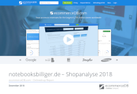 notebooksbilliger.de – Shopanalyse 2018
