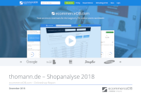 thomann.de – Shopanalyse 2018