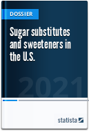 Sugar substitutes and sweeteners in the U.S.