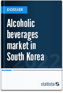 Alcoholic beverages industry in South Korea