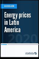 Energy prices in Latin America