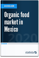 Organic food market in Mexico