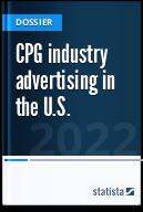 CPG industry advertising in the U.S.