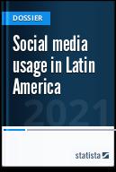 Social media usage in Latin America