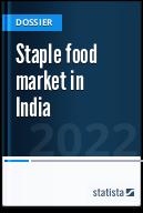 Staple food market in India