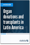 Organ donations and transplants in Latin America