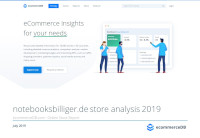 notebooksbilliger.de store analysis 2019