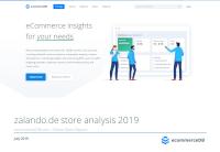 zalando.de store analysis 2019