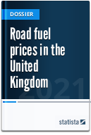 Road fuel prices in the UK