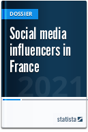Social media influencers in France