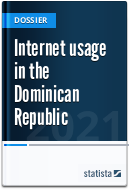 Internet usage in the Dominican Republic