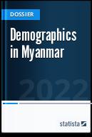 Demographics in Myanmar